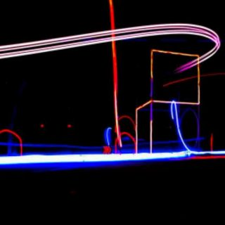 I am missing night #droneracing #photography. This is a long exposure shot from a race at @palaceoffinearts in San Francisco. Its fun to see the line that each pilot creates during the race with colorful led lights. #photo #fpv #drone #sanfrancisco #longexposure #fun #karina #karinafurhman #create #dream #photis #photography #womanphotographer #eventphotography #fly #befree